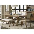 Town and Country Transitional 6-piece Dinette Set