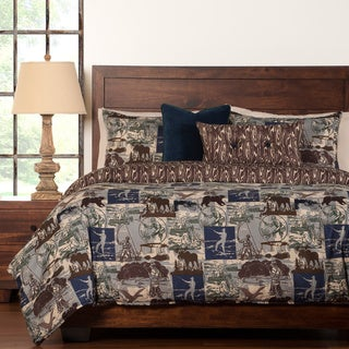 North Shore Reversable 6-piece Duvet set
