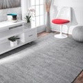 nuLOOM Handmade Concentric Diamond Trellis Wool/ Cotton Rug  (8'6 x 11'6