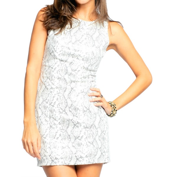 Sara Boo Women's Snake Print Dress (Small)