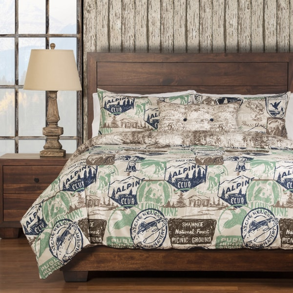 Parks and Rec Reversable 4-piece Duvet Cover set