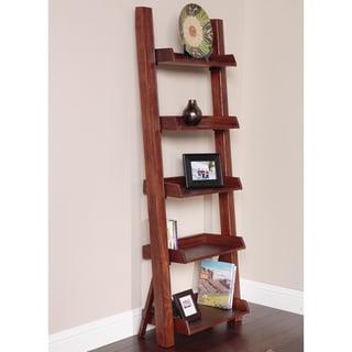 Five Shelf Ladder Bookcase