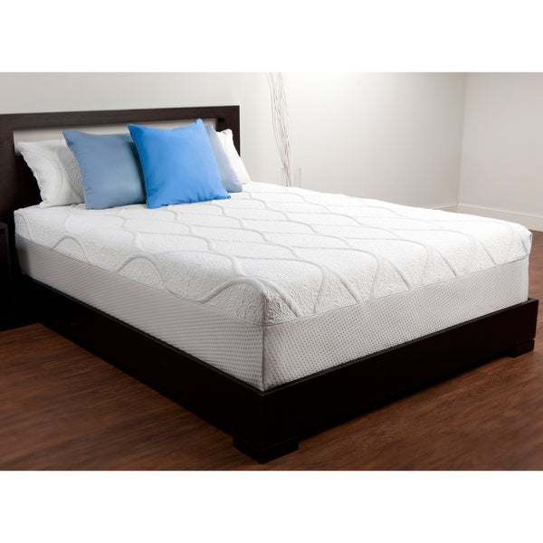 Comfort Memories 14-inch Queen-size Sensogel Gel Memory Foam Mattress
