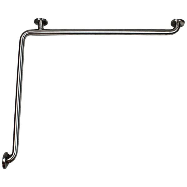 CSI ADA Stainless Steel 27 x 36-inch L-Shaped Grab Bar