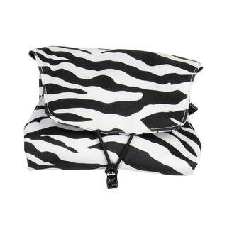 Household Essentials Zebra Four N Fold Jewelry Organizer