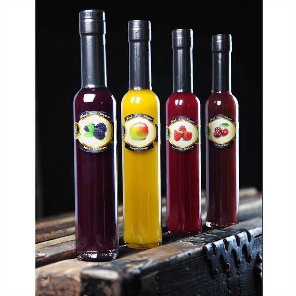 Mango, Blackberry, Raspberry, Cherry Fresh Fruit Vinegar