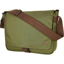 Token Jay Olive Laptop Messenger Bag