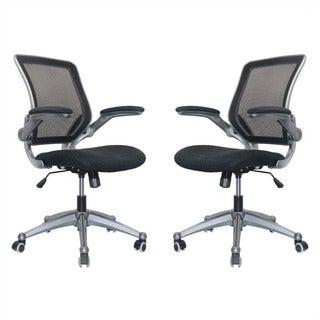 Manhattan Comfort Henderson Office Chair (Set of 2)