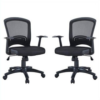 Manhattan Comfort Gracie Classic Adjustable Office Chair (Set of 2)