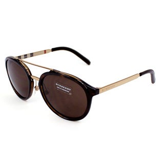 Burberry Men's BE4168Q Trench Collection Metal & Plastic Sunglasses