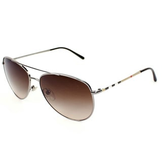 Burberry BE3072Women's Metal Aviator Sunglasses