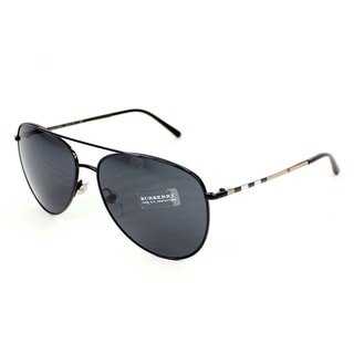 Burberry BE3072 Metal Women's Aviator Sunglasses