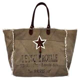 Winne Recycled Canvas Weekender Bag