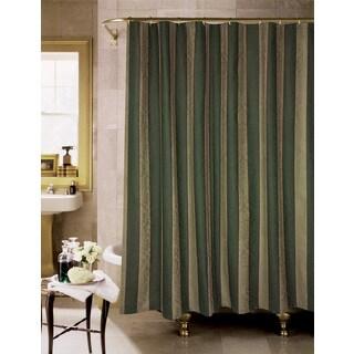 Rose Tree Knottingham Stripe Shower Curtain