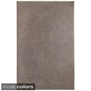 Regence Home Hand-woven Wool Metro Tundra Area Rug (7'5 x 10')