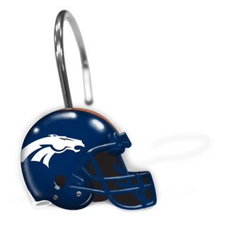 NFL 942 Broncos Shower Curtain Rings