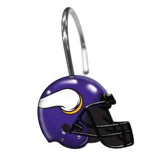 NFL 942 Vikings Shower Curtain Rings