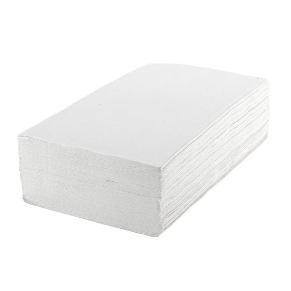 Medline Standard Single Fold Towels, White (Case of 4000 Towels)