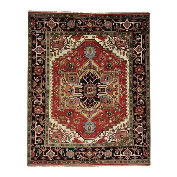 Serapi Heriz 100-percent Wool Hand Knotted Oriental Rug (8' x 9'10) 15105153