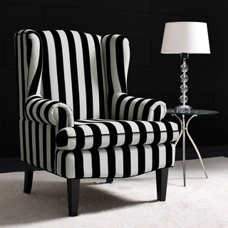 Paris Velvet Wingback Chair