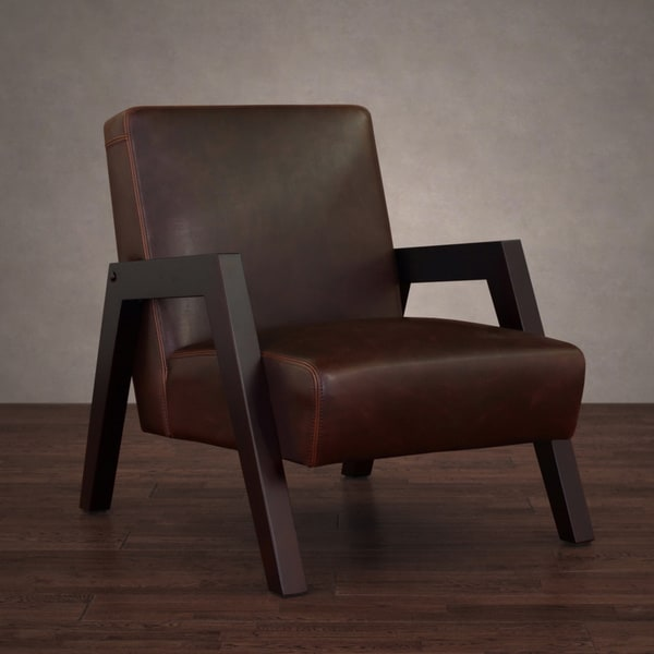 New Roadster Vintage Tobacco Leather Arm Chair