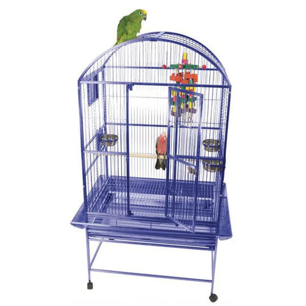 A&E Cage Co. 63-inch Dome Top Bird Cage with 3/4-inch Bar Spacing