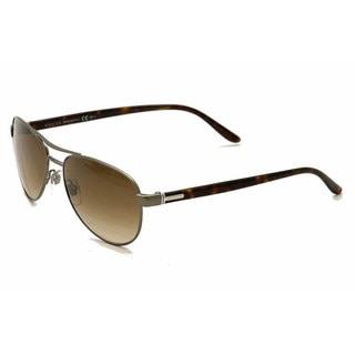Gucci Men's 2236/S Metal Aviator Sunglasses