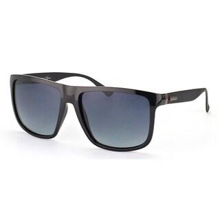 Gucci Men's 1075/S Plastic Rectangular Sunglasses