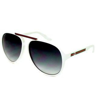 Gucci Men's 1627/S Plastic Aviator Sunglasses