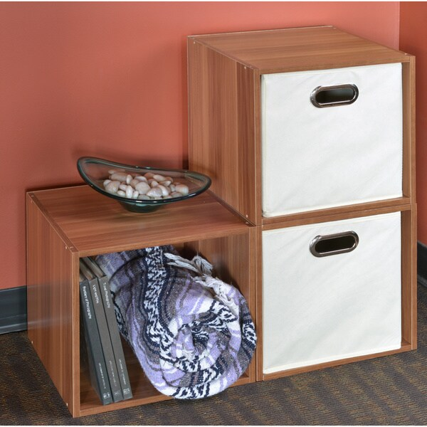 Niche No Tools Assembly Cubo Storage Cubes (Set of 3)