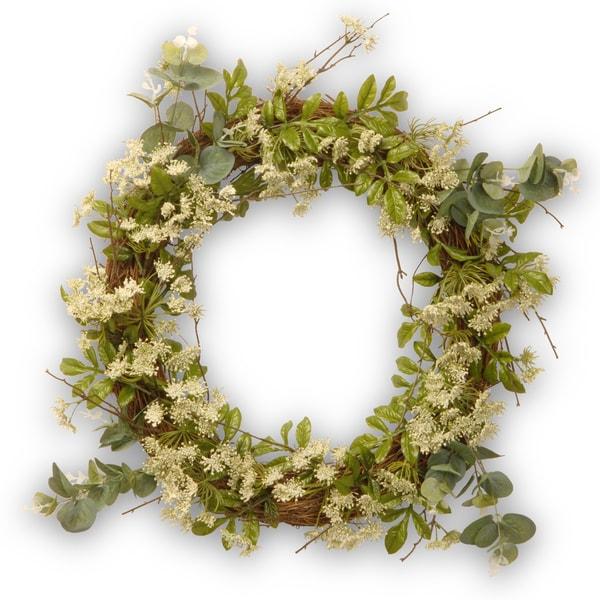 24-inch Dill Blossom Wreath