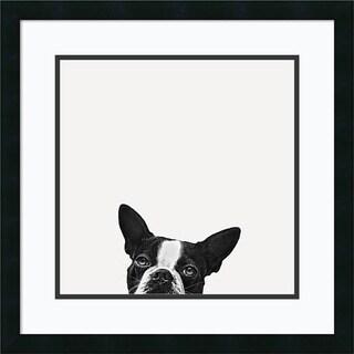 Jon Bertelli 'Loyalty' Framed Art Print 22 x 22-inch