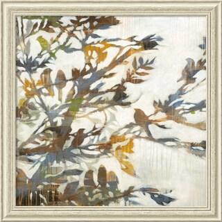 Liz Jardine 'Flock Together' Framed Art Print 34 x 34-inch