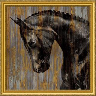 Martin Rose 'Horse I' Framed Art Print 30 x 30-inch