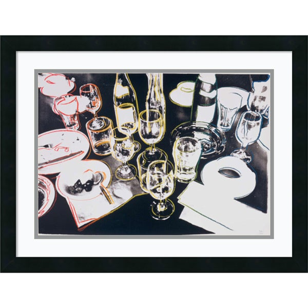 Andy Warhol 'After the Party, 1979' Framed Art Print 24 x 19-inch