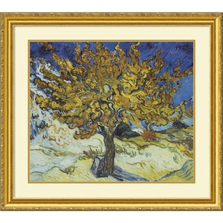 Vincent van Gogh 'The Mulberry Tree' Framed Art Print 32 x 29-inch