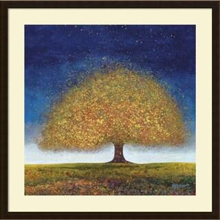 Melissa Graves-Brown 'Dreaming True Blue' Framed Art Print 34 x 34-inch