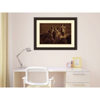 Tony Stromberg 'Bad Girls' Framed Art Print 33 x 25-inch