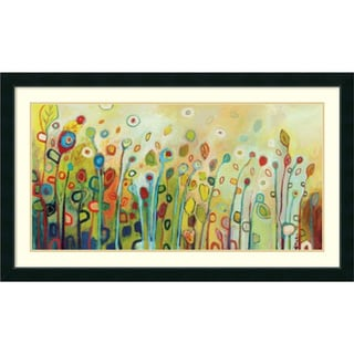 Jennifer Lommers 'Within' Framed Art Print 43 x 25-inch