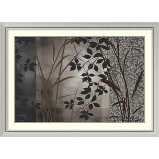 Edward Aparicio 'Silver Whispers I' Framed Art Print 44 x 32-inch