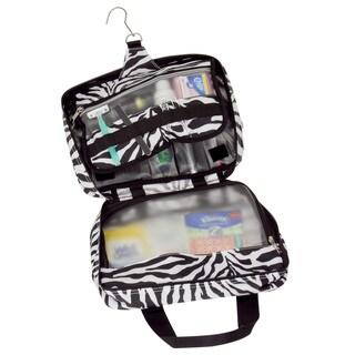 Household Essentials Zebra Double-Sided Travel Kit