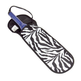 Household Essentials Zebra Curling and Flat Iron Cover