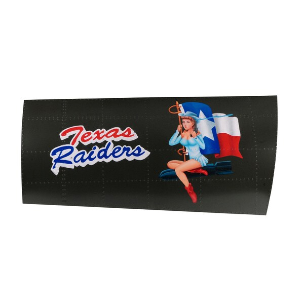 French Heritage Texas Raiders Sign