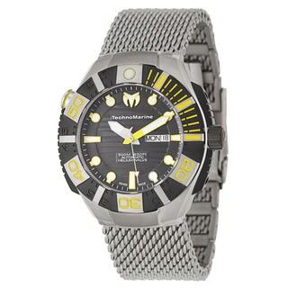 TechnoMarine Men's 'Cruise' Titanium Swiss Mechanical Automatic Watch
