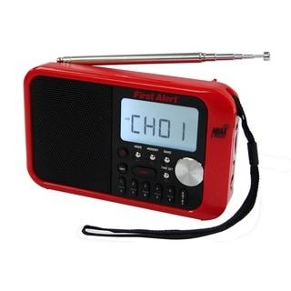 First Alert Digital Tuning AM/FM Weather Band Clock Radio