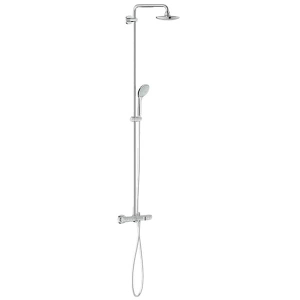 Grohe Euphoria System 180 9.5L Chrome Shower System Thermostatic