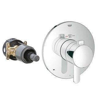 Grohe Europlus New Grohflex Cosmopolitan Thermostatic Kit 2 Chrome