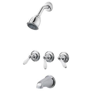 Pfister 01 Series Shower 1S Trim Kits Bell Showerhead Polished Chrome