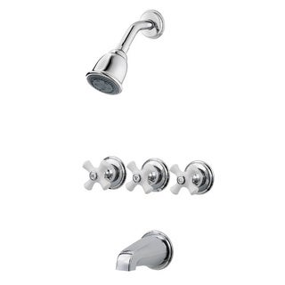 Pfister 01 Series Shower 1S Polished Chrome Tub and Shower Trim Kit