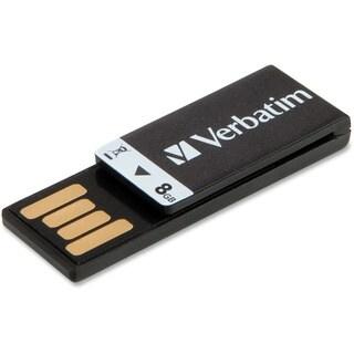 Verbatim 8GB Clip-It USB Flash Drive - Black